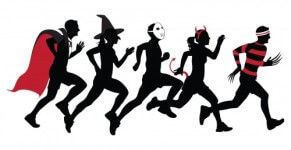 Halloween 5k Fun Run for Greece Trip registration logo