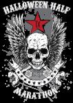Halloween Half & Monster Dash 5k registration logo