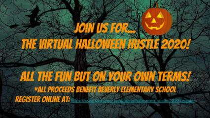 Halloween Hustle registration logo