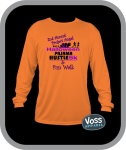 Halloween Pajama Hustle and 5k walk registration logo