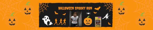 Halloween Spooky Virtual Marathon registration logo