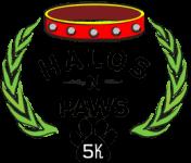 Halos-n-Paws 5K registration logo