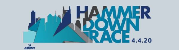 Hammer Down Race registration logo