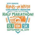 Hands-On House Half Marathon, 10K & 5K registration logo