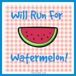 Hanna Watermelon Crawl, Walk or Run registration logo