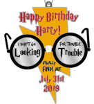 Happy Birthday Harry 1 Mile, 5K, 10K, 13.1, 26.2 registration logo