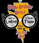 Happy Birthday Harry 1 Mile, 5K, 10K, 13.1, 26.2 registration logo