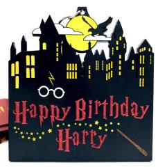 Happy Birthday Harry 1M 5K 10K 13.1 and 26.2 registration logo