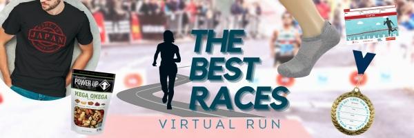 Happy Birthday Virtual Race registration logo