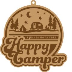 Happy Camper 1 Mile 5K 10K 13.1 26.2