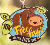 Happy Hug Day 5K & 10K registration logo