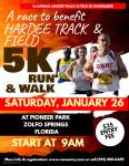 Hardee Track & Field 5k Fundraiser registration logo
