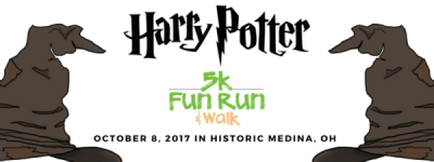 Harry Potter Fun Run 5K and Walk registration logo