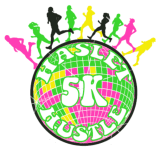 Haslet Hustle Glow Run registration logo