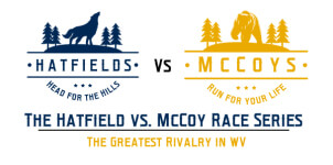 Hatfield vs. McCoy Race Series Oct. 20th registration logo