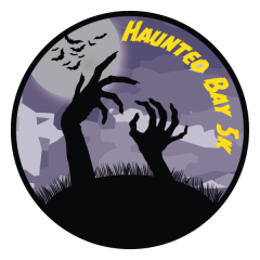 Haunted Bay 5K registration logo