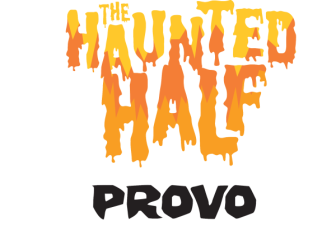 Haunted Half Provo registration logo