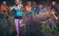 Haunted Trail of the Night Fun Run 5K registration logo