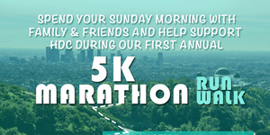 HDC 5K Run/Walk Marathon registration logo
