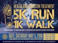 Health & Addiction Treatment 5K registration logo