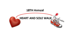 Heart and Sole Walk registration logo