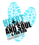 Heart & Soul 5k and One Mile Fun Run registration logo