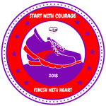 Heart of Courage Virtual 5K registration logo