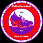 Heart of Courage Virtual 5K registration logo