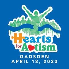 Hearts for Autism - Gadsden registration logo