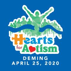 Hearts for Autism registration logo