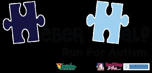 Heber Half - Run For Autism registration logo
