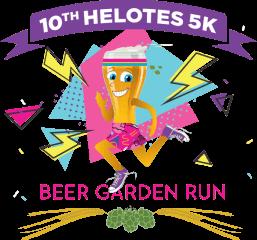 Helotes Beer Garden Run registration logo