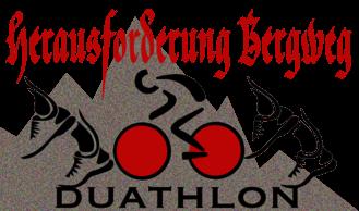 Herausforderung Bergweg Duathlon registration logo
