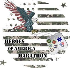 Heroes Of America Marathon registration logo