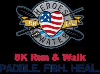 Heroes On The Water 5K registration logo