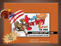 Heros 5k Turkey Trot  registration logo
