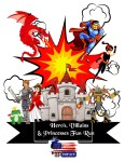 Hero's, Villain's and Princesses Fun Run - Day of iMPACT registration logo
