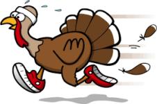 Hiawatha Parks & Recreation 1st Annual Turkey Trot 5K registration logo