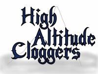 High Altitude Cloggers 5K registration logo