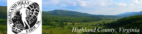 Highland Hills Farm 5K  registration logo