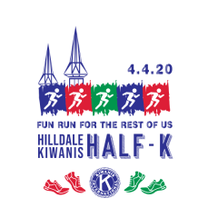 Hilldale Kiwanis Half-K registration logo