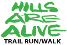 Hills Are Alive Trail Run/Walk registration logo