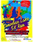 Historic Converse Lake 5K registration logo