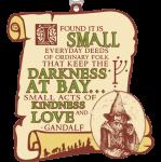 Hobbit Day 1 Mile, 5K, 10K, 13.1, 26.2 registration logo