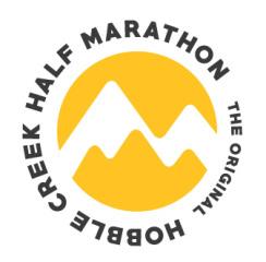 Hobble Creek 1/2 Marathon registration logo
