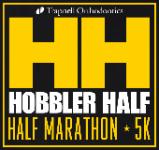Hobbler Half Marathon - 5k  registration logo
