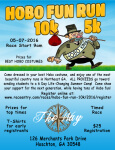 Hobo Fun Run 5k-10k registration logo