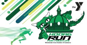 Hodag Run for Your Life registration logo