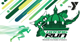 Hodag Run for Your Life registration logo