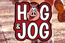Hog and Jog 5K registration logo